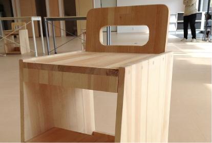ひとりにひとつの手作り椅子